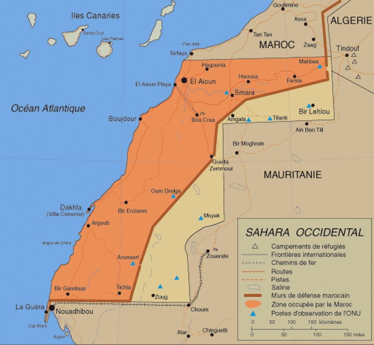 Le Maroc malade du Sahara occidental