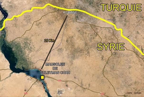 L'incursion de l'armée turque en Syrie, un témoignage des bonnes relations de la Turquie avec l'Etat Islamique