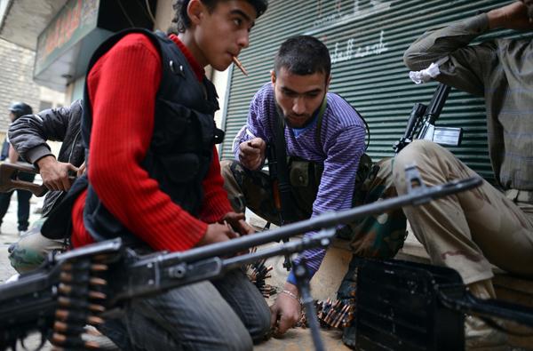 Les débris du changement de régime en Libye