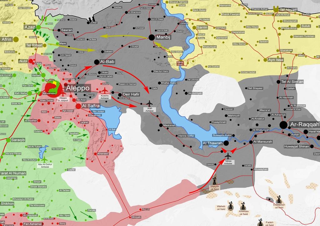 La « course vers Raqqa » – Le plan de campagne syrien