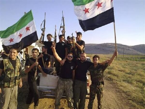 L'Armée syrienne libre, une opération médiatique organisée par le gouvernement britannique