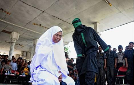 Indonésie - Chrétienne fouettée en application de la loi islamique