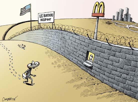 Aucun mur ne pourra affecter le Mexique plus que le NAFTA ne l'a fait