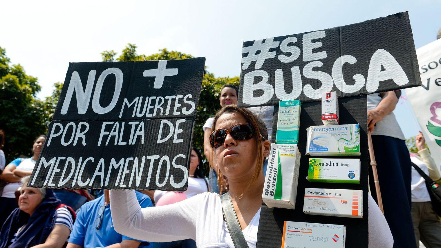 Venezuela : de la guerre économique  au  blocus financier