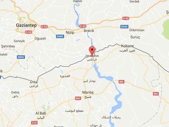 L'armée turque et la coalition antijihadiste lancent une opération contre Daesh à Jarablus en Syrie