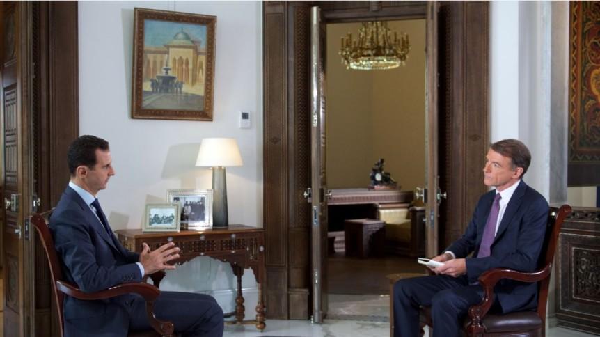 Bachar al-Assad à NBC News : « le soutien russe à l'Armée syrienne a fait pencher la balance contre les terroristes. »