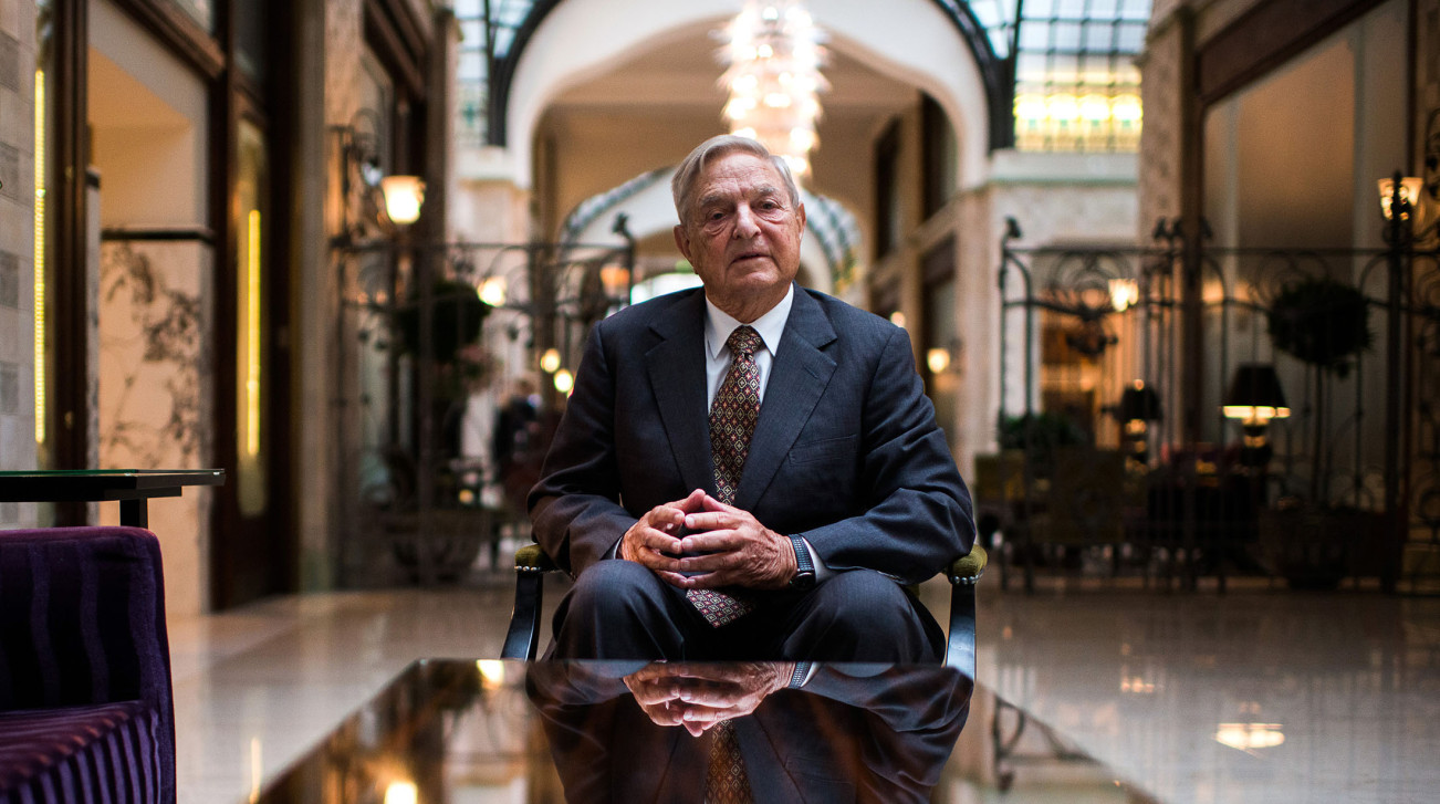 George Soros, l'impresario de la campagne anti-syrienne