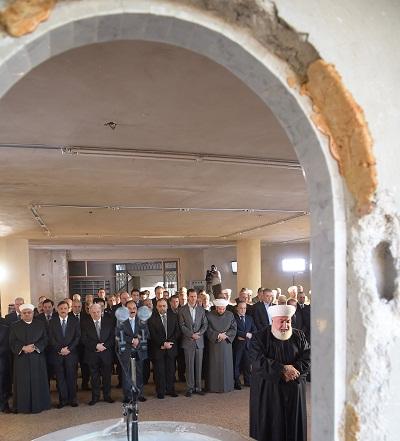 Bachar al-Assad à Darayya libérée : « l'Etat déterminé à récupérer toutes les régions »