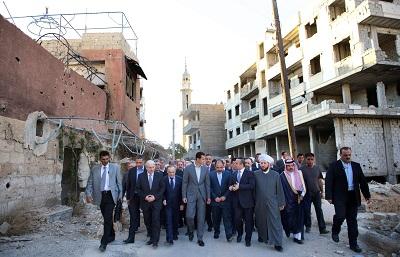 Bachar Assad Darayya100