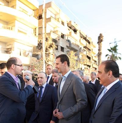 Bachar Assad Darayya2
