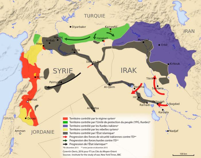 Les alliés des Etats-Unis sont prêts à partager avec euxla responsabilité de l'attaque de Deir Ezzor