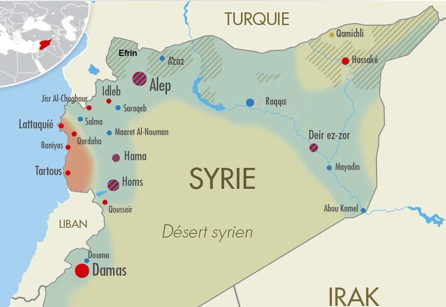 Syrie / Qui est tombé à Darayya et qui est ressuscité à Jarablus ?