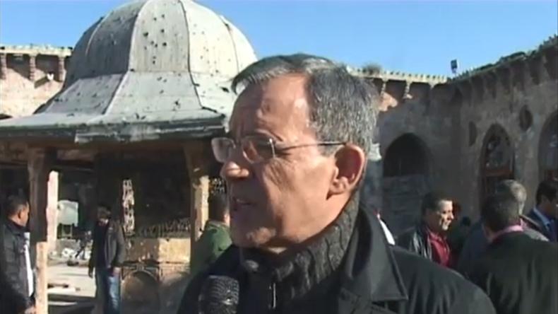 Thierry Mariani à Alep : «Sans l'armée russe, la Syrie serait tombée dans les mains des terroristes»