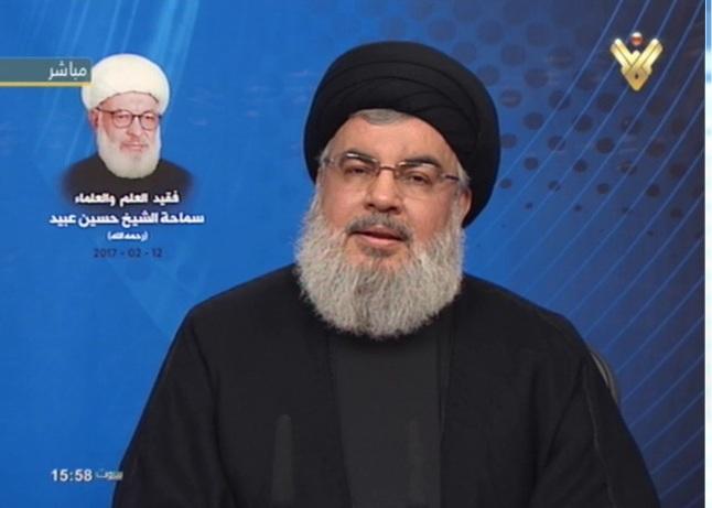 Hassan Nasrallah : « Nous sommes optimistes face à la prise du pouvoir à Washington par un stupide comme Trump. Ceci est un indice de la prochaine victoire des opprimés du monde. »