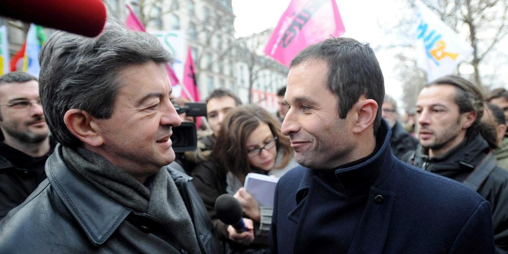 La gauche française à hue et à dia