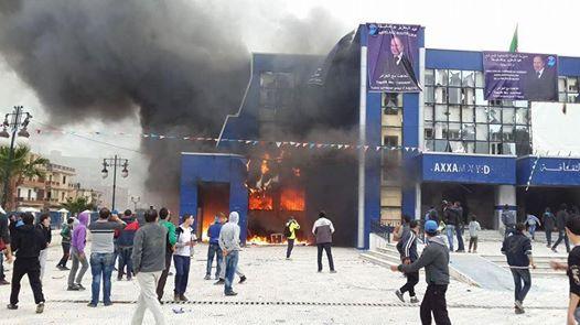 La Kabylie ne brûlera pas!
