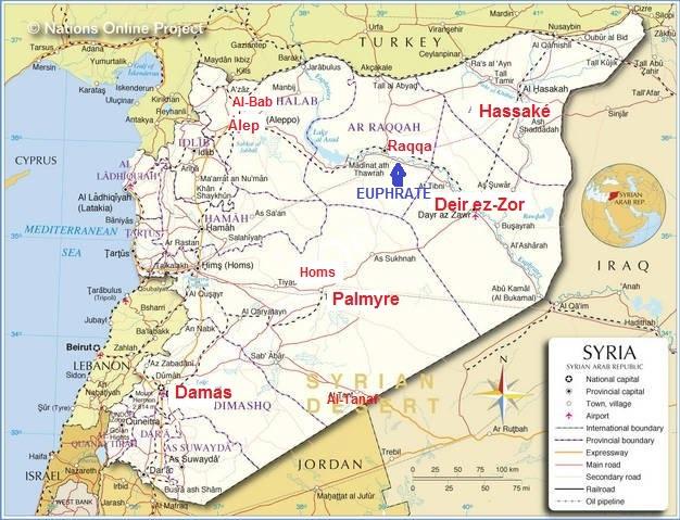 NasserCarte Syrie