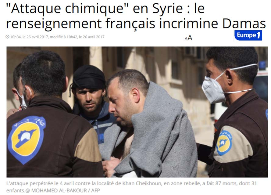 Armes chimiques Syrieayrault 1