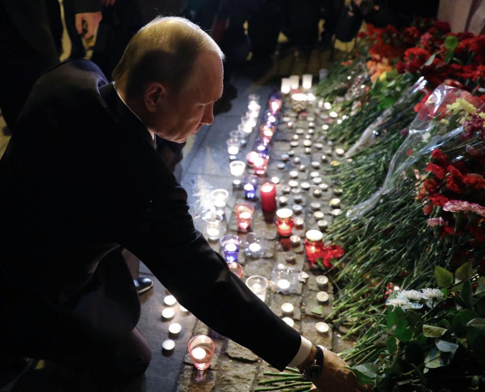 Attentat du métro de Saint-Pétersbourg : La tristesse et la honte