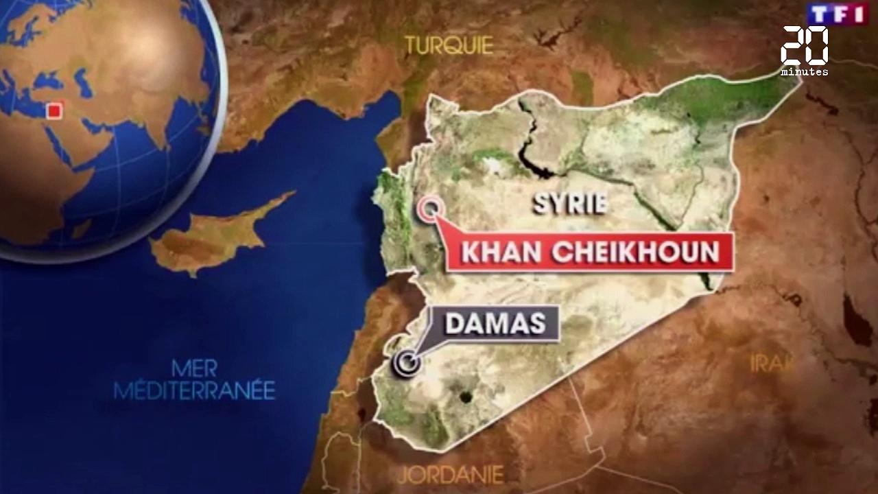 Est-ce vraiment Assad qui a bombardé Idlib au gaz!? (Le Peuple)