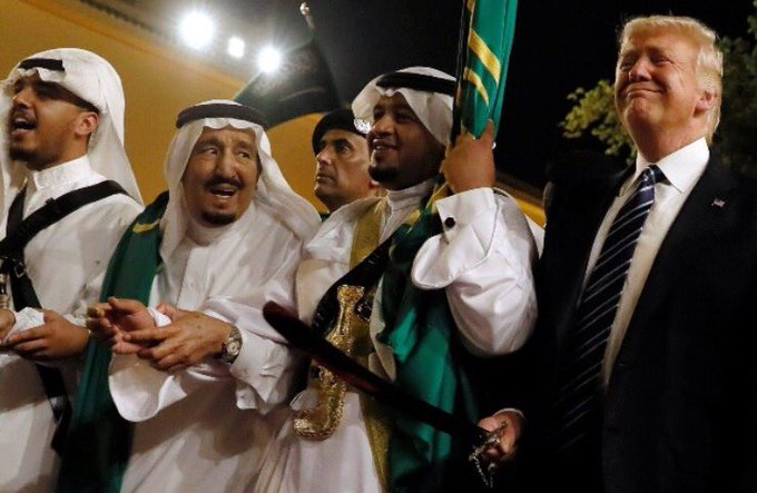 Arabie saoudite : sommet de la honte et monde idio !