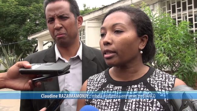 Madagascar : Claudine Razaimamonjy en prison