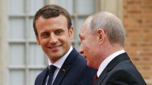 Poutine, Macron et Jean de la Fontaine