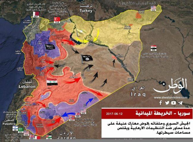 Syrie : Stratégiquement, la guerre est finie