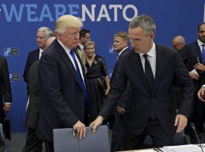 Le premier sommet de l'OTAN sous Donald Trump