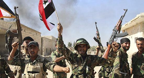L'irréversible dynamique de reconquête de l'armée syrienne