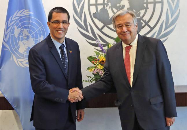 Jorge Arreaza : « J'espère que nous ne connaîtrons pas une nouvelle barbarie à notre époque ! »