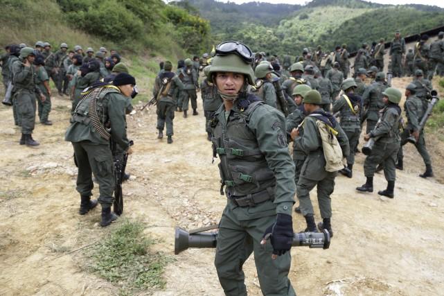 Venezuela : Plus de neuf cent mille combattants participent à l'exercice civilo-militaire  « Souveraineté nationale »