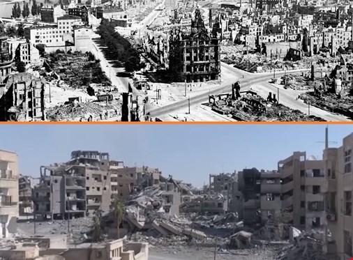 «Bombardements barbares» : pour Moscou, la coalition a fait subir à Raqqa le même sort que Dresde
