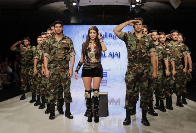 La Syrie et l'Armée syrienne font un retour artistique à Beyrouth
