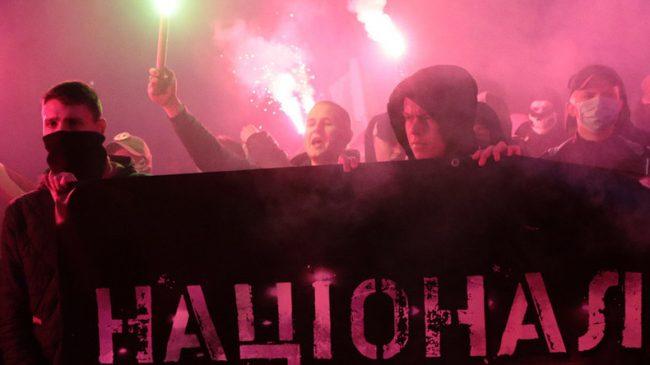 Ukraine, Nazis et media occidentaux