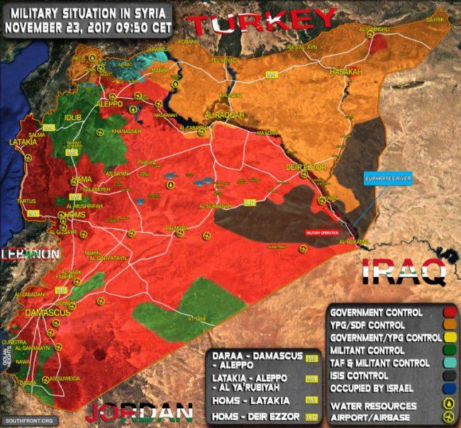 Syrie – L'occupation, ou présence étasunienne est intenable
