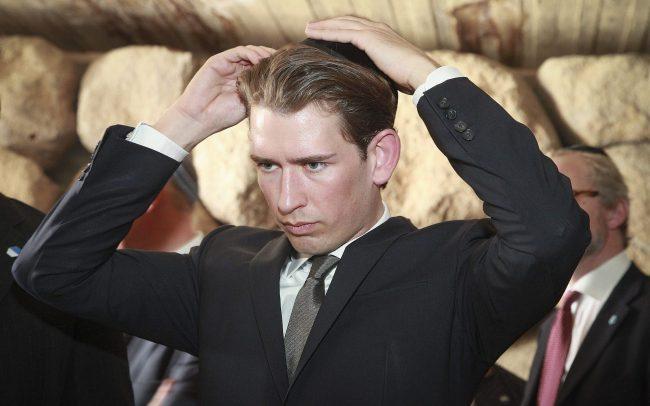 Autriche : les fachos qui arrivent au gouvernement sont pro-Netanyahou