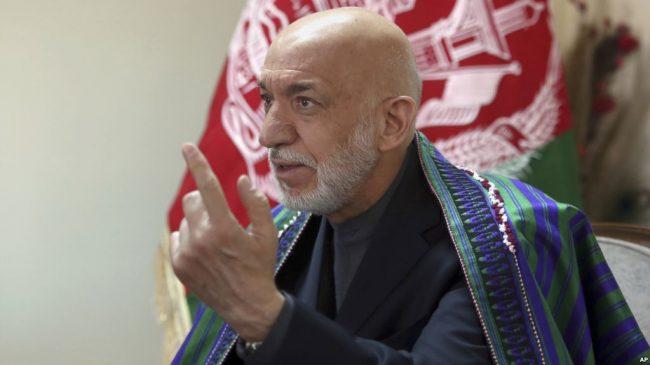 Karzaï, l'ancien président afghan, qualifie État islamique, d'outil des États-Unis