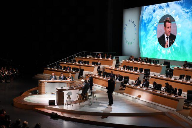 Billet d'humeur – One Planet Summit ou la diplomatie du mirage