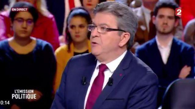 Balles tragiques à France 2 : Mélenchon même pas mort