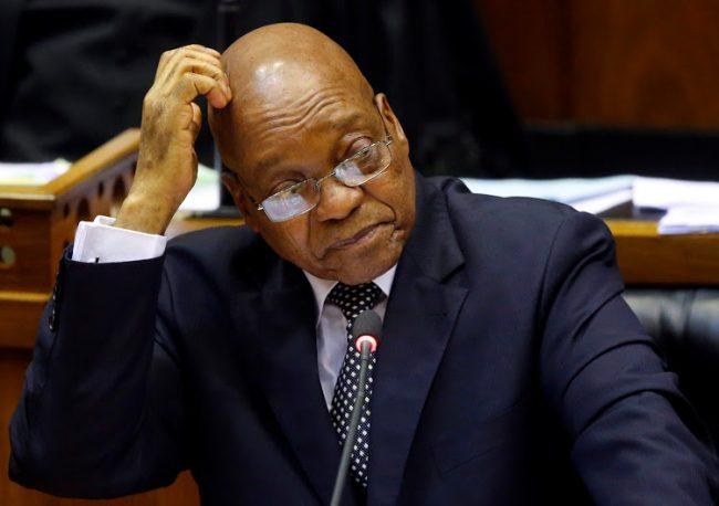 Zuma : le compte à rebours