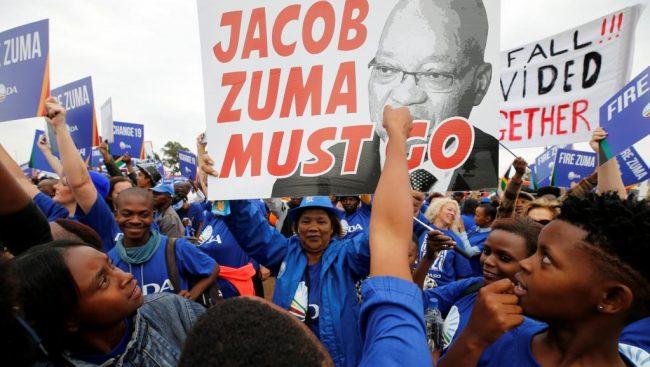 Zuma « rappelé », mais toujours président !
