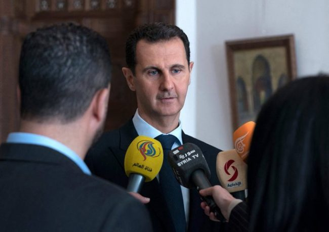 Bachar al-Assad : « Vos mensonges signifient une seule chose : l'Armée syrienne avance ! »