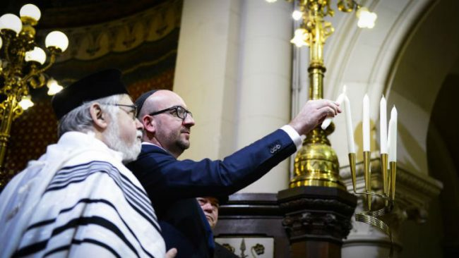 Chantage à l'antisémitisme : Charles Michel n'a pas pu s'empêcher…