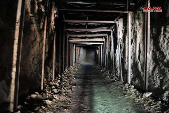 Syrie : Dans la Ghouta libérée un labyrinthe de tunnels souterrains creusés par les groupes islamistes