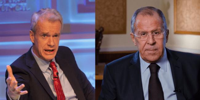 Interview du Ministre russe des Affaires étrangères Sergueï Lavrov pour l'émission