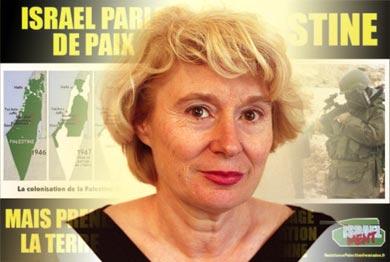 Olivia Zémor acquittée, le gouvernement français et le lobby israélien déboutés !