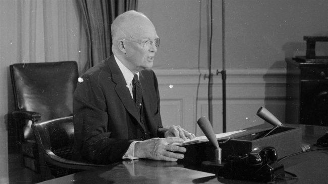 Lire enfin le discours d'Eisenhower sur le complexe
