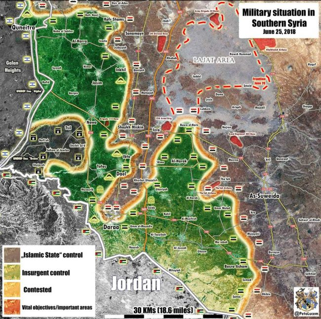 La Syrie est prête à entamer la campagne de Deraa