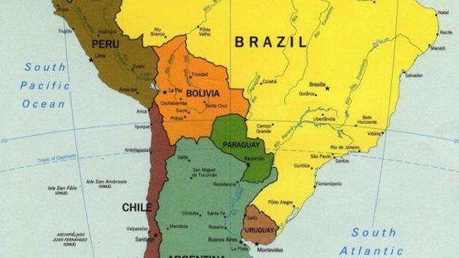 Géopolitique de l'Amérique du Sud